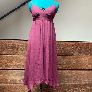 Vintage 90's Esprit Ethereal Wine Colored Dress